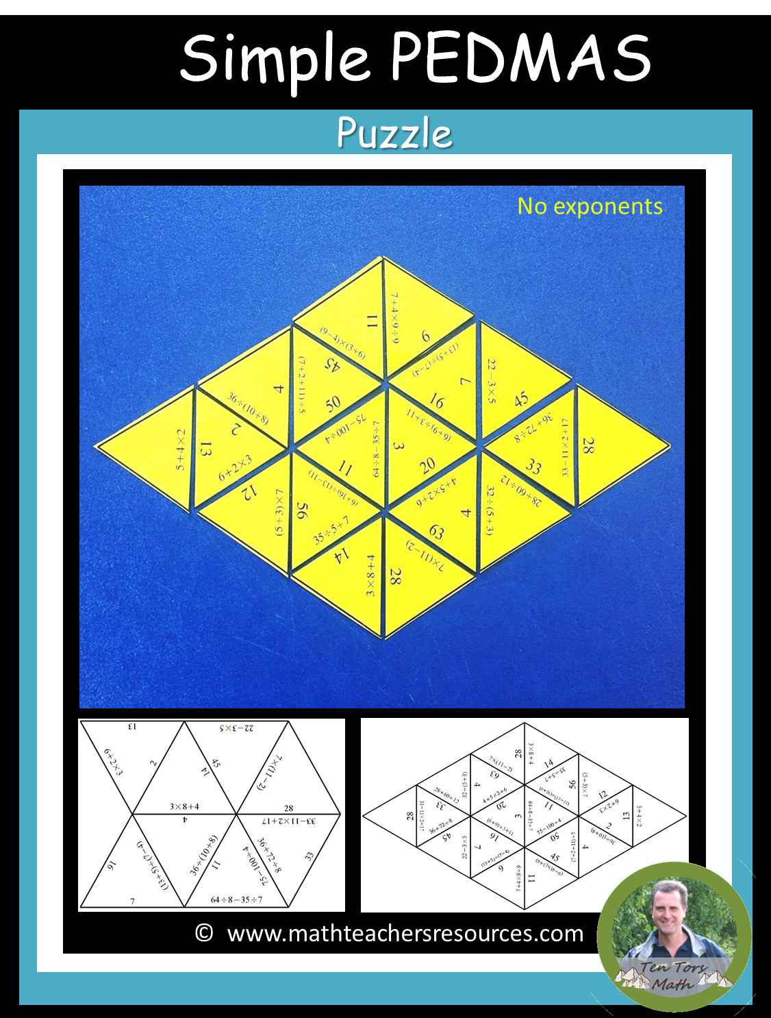 A Simple Pedmas Puzzle Activity This Is For Younger
