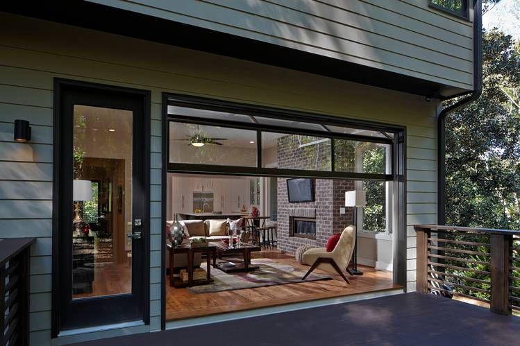 Garage Door Styles That Work Indoors Dom Okna Wnętrze