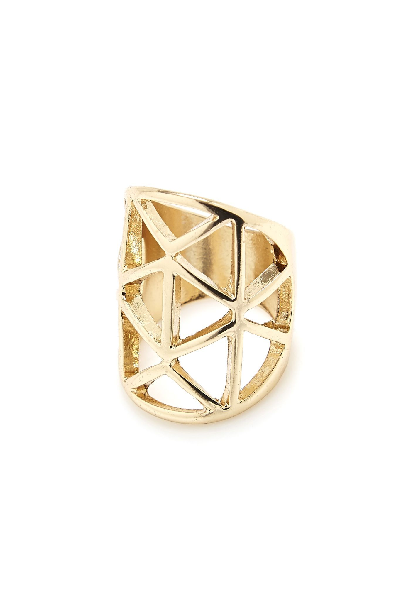Geo Cut Out Ring in #Gold - 3139188 - from Equip (AUD $3.00 was $7.99).