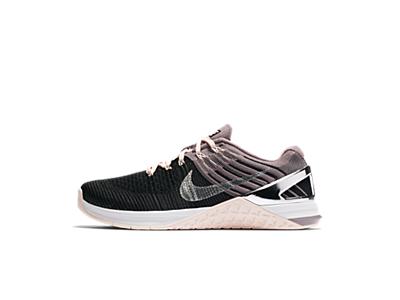Nike Metcon DSX Flyknit Chrome Blush Women's Training Shoe