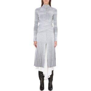 Proenza Schouler Femme Lambrissée Taille Robe Blanche Stretch En Tricot De Schouler De Proenza csgG8