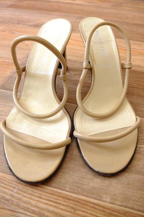 9f379690f805 Dámské sandály na podpatku Helmut Lang v roku 2019