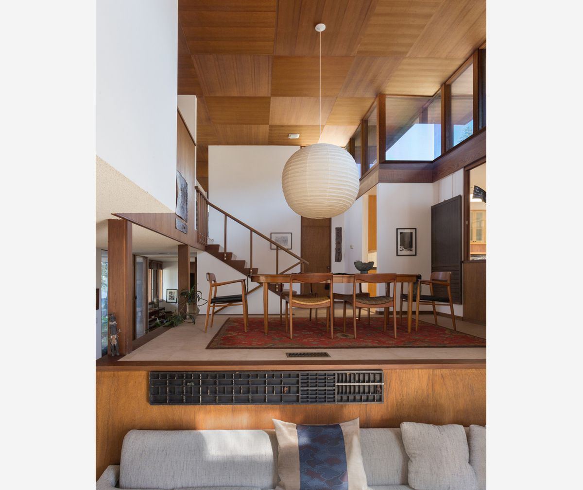 Light and space woodland hills architecture decoration mid century modern interiors