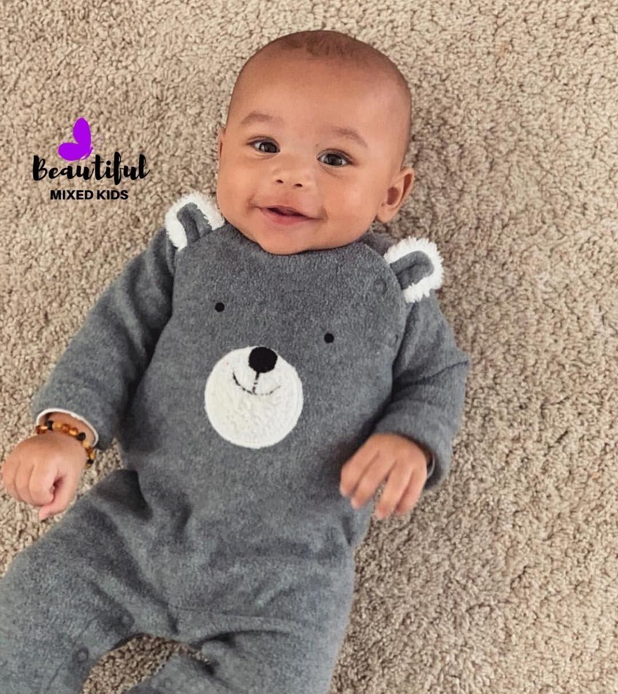 "BEAUTIFUL MIXED KIDS on Instagram: ""Caesar - 4 Months ..."