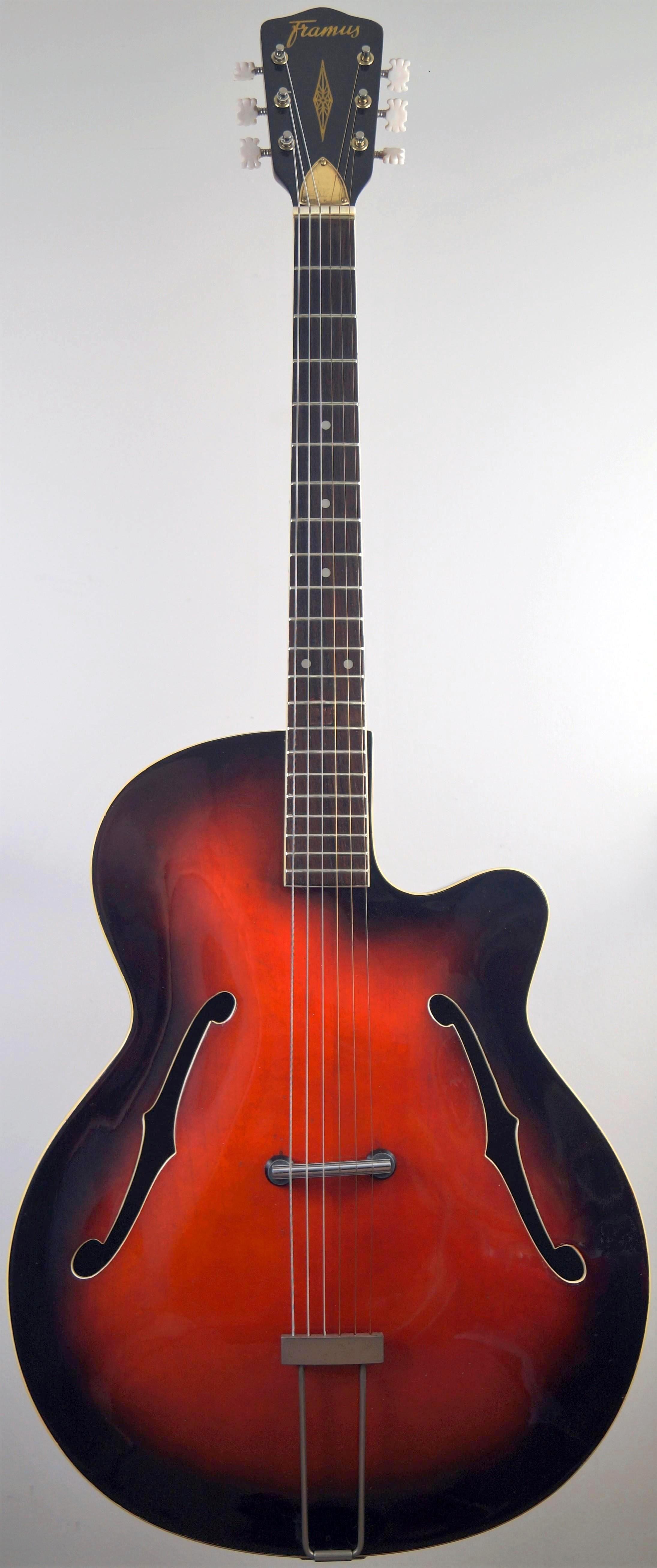 My Framus 5 54 Riviera Acoustic Archtop Guitar at Ukulele Corner inc