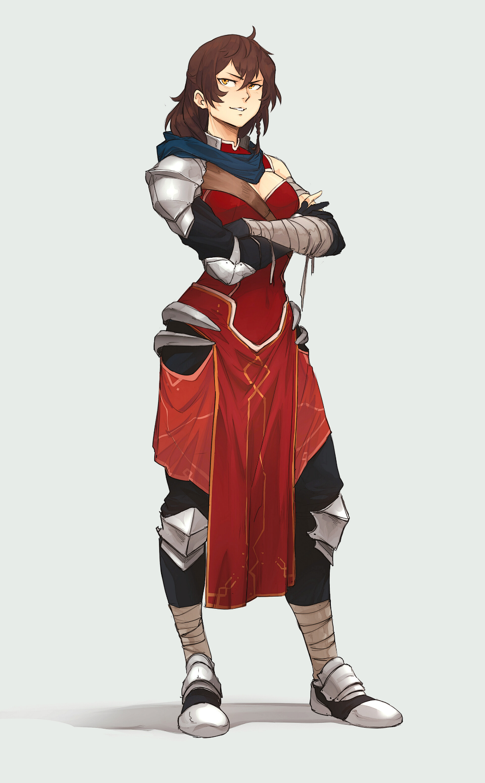 ArtStation - Celtchair - Commission Character Design, Sol