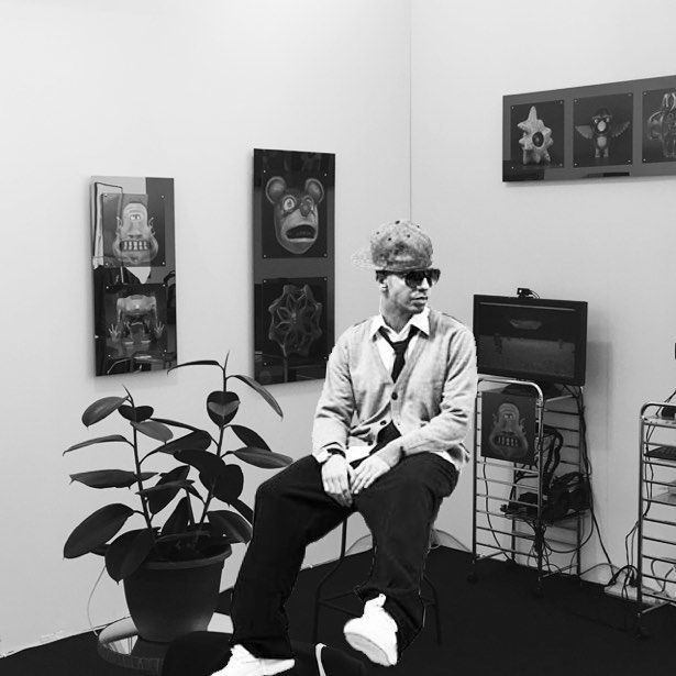 An awesome Virtual Reality pic! #Dude #Drake is here because he loves #virtualreality #artlosangelescontemporary @alacontemporary booth F8 by louisbjames check us out: http://bit.ly/1KyLetq