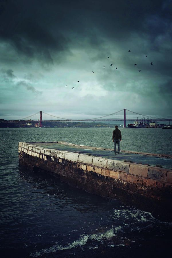 Longing For The Departed Photograph by Carlos Caetano