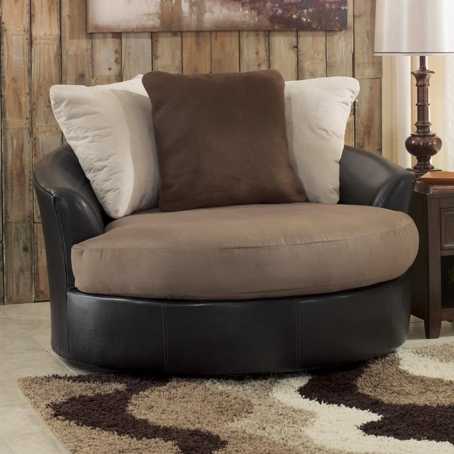 Living Room Amazing Chair Ottoman Set Modern With Brown Ashley Furniture Oversized Swivel Accent Ch Oversized Chair Living Room Ashley Furniture Comfy Chairs