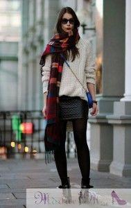 kışın ne giysem kışın nasıl şık olacağım ünlü bloggerlar ne giymiş deri etek kombinleri opak çorap ootd kombinleri gleam fashion blogger sok...