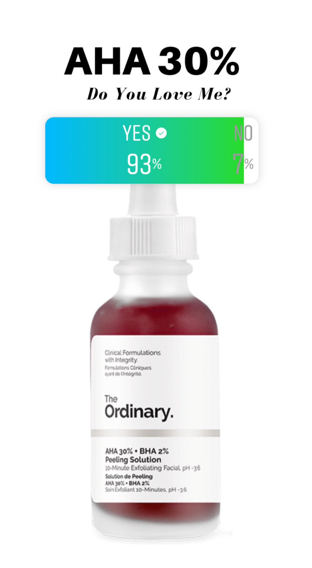 The Ordinary AHA 30 + BHA 2 Reviews by 100,000 Deciem