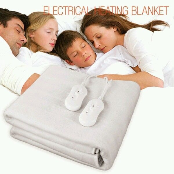 DOUBLE ELECTRICAL HEATING BLANKET 160 X 140