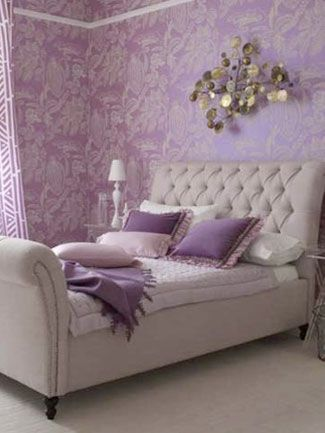 8 Fun Ways To Make Your Room Pop With Purple Purple Bedroom Design Bedroom Decor Design Lavender Bedroom Decor
