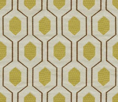 Geometric Retro Vintage Mid Century Patterned Fabric By The Yard Mellow 52 00 Via Etsy