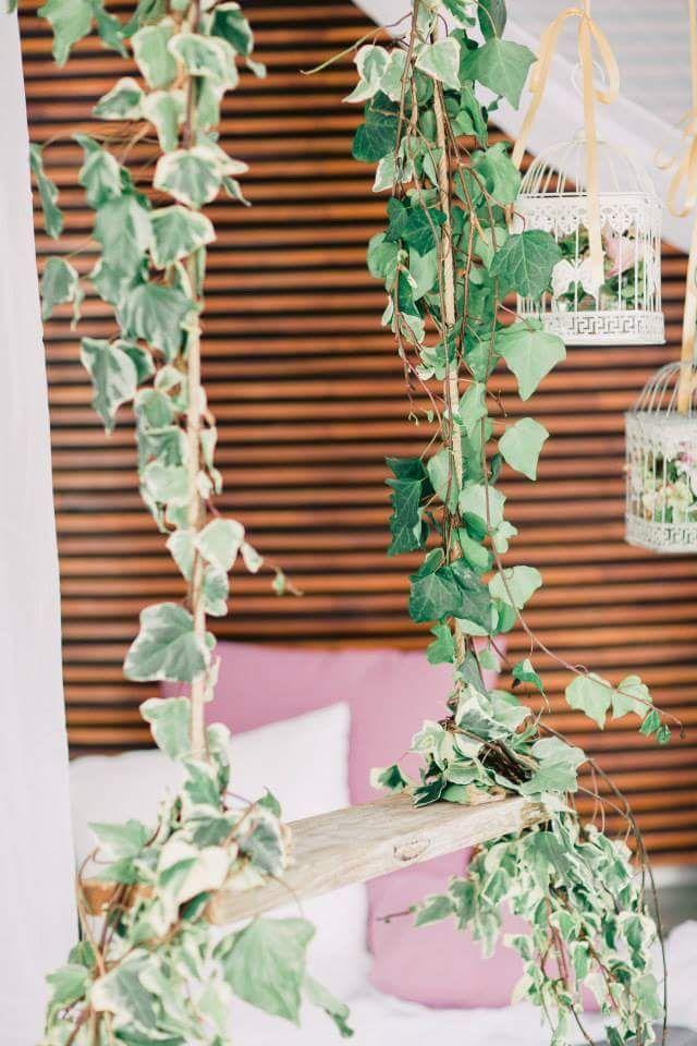 Pormenor de decoração de espaços By Bloom Creative
