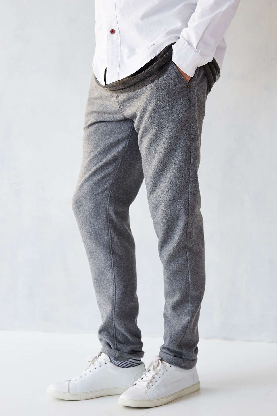 CPO Woolen Awesome Skinny-Fit Chino Pant