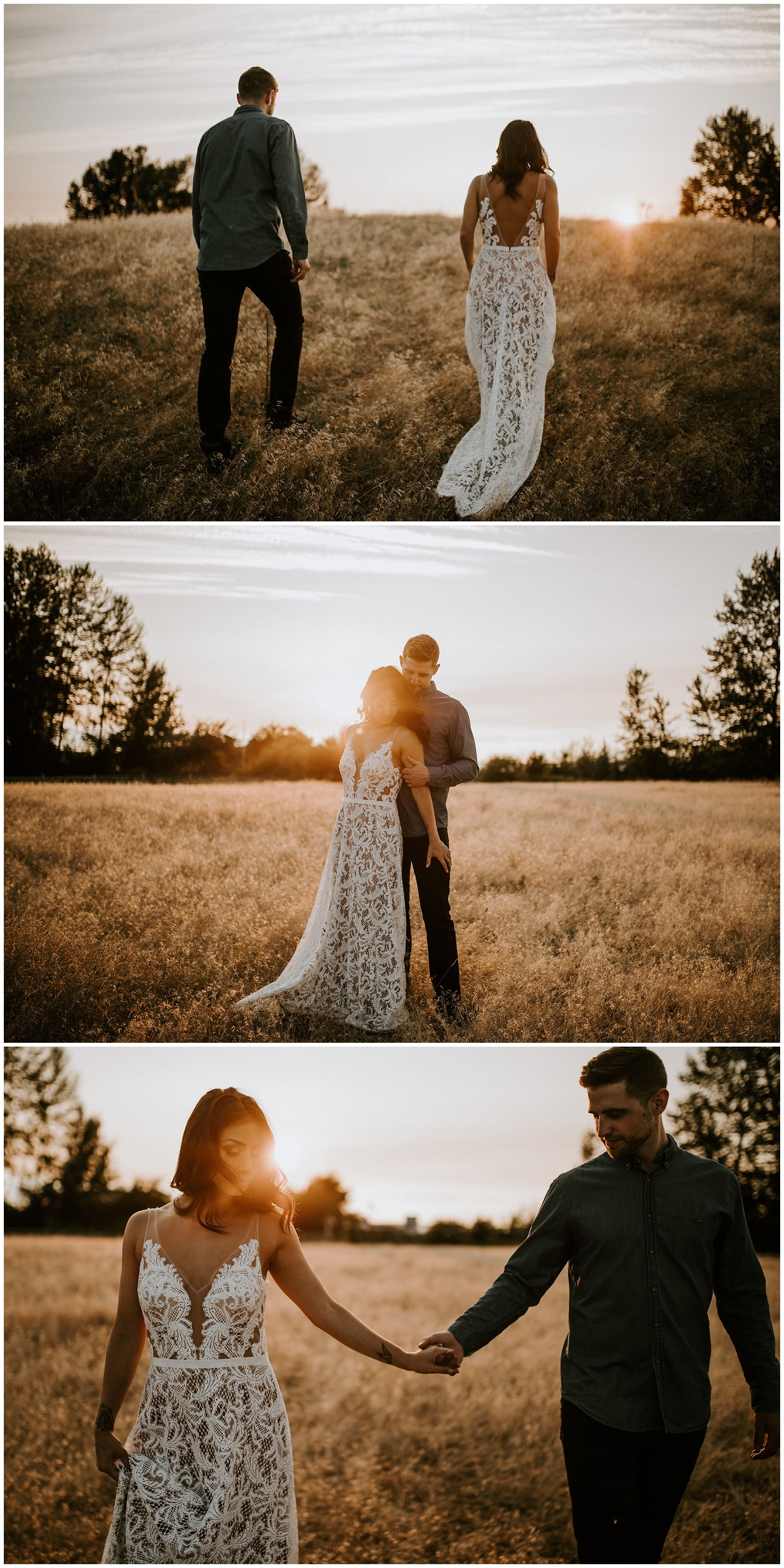27+ White dress engagement photos info