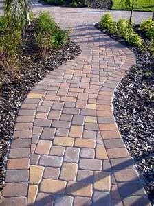 pavers casa pinterest adoquines piso para patio y