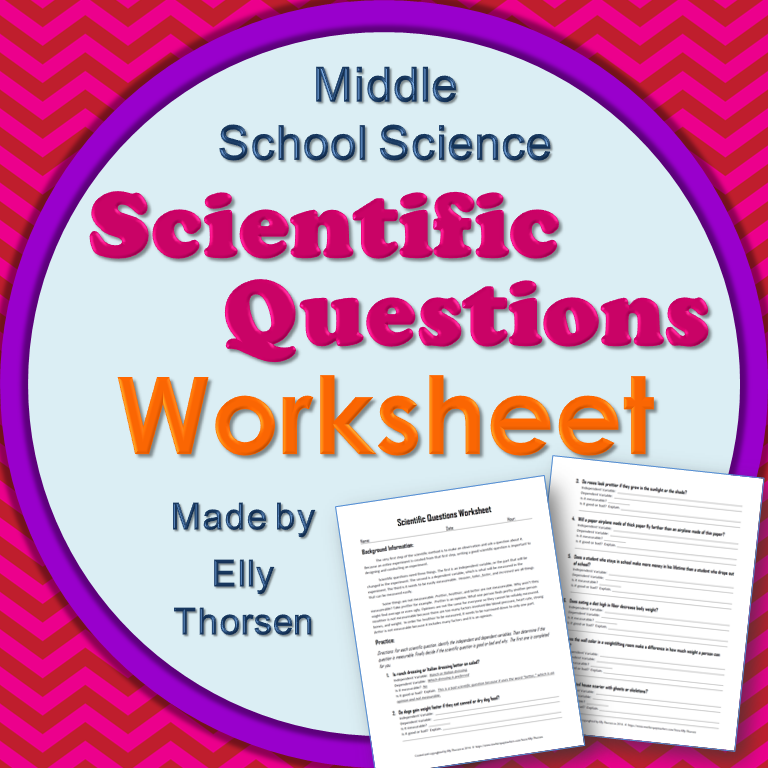 Worksheets A Good Scientist Can Worksheet use this two page worksheet to help your science students understand what makes a good scientific