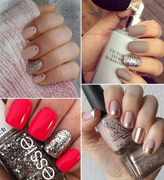 16 Gorgeous Engagement Manicure Ideas Weddingsonline Manicure Engagement Nails Wedding Nail Polish
