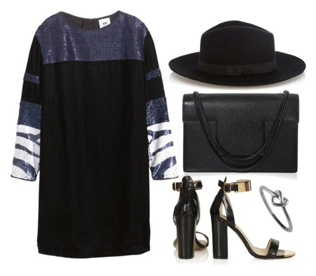 """Untitled #1681"" by dceee ❤ liked on Polyvore featuring H&M, Yves Saint Laurent, Topshop and Warehouse"