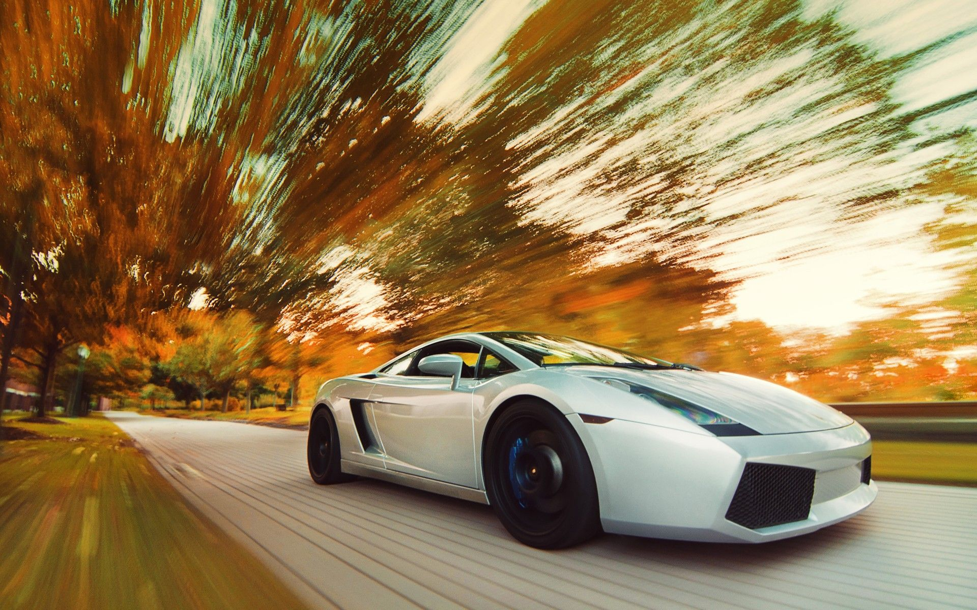 Lamborghini Gallardo Road #Hd #Cars