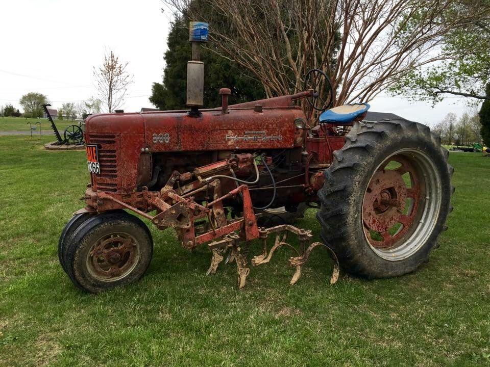 FARMALL 300 with Cultivators   tractors   International tractors  Farmall tractors  Tractors