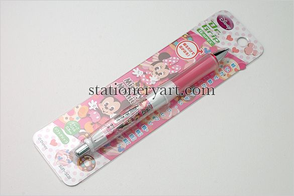 Mechanical Pencil - Disney Mickey Minnie Dr. Grip G-Spec Shaker Pencil
