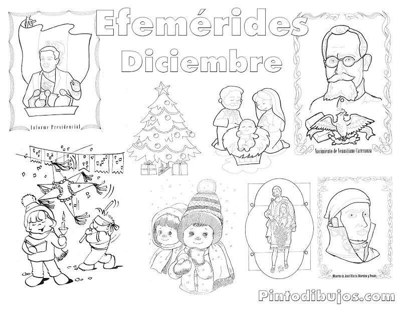 Efemérides diciembre | Escuela y más | Pinterest | Diciembre ...