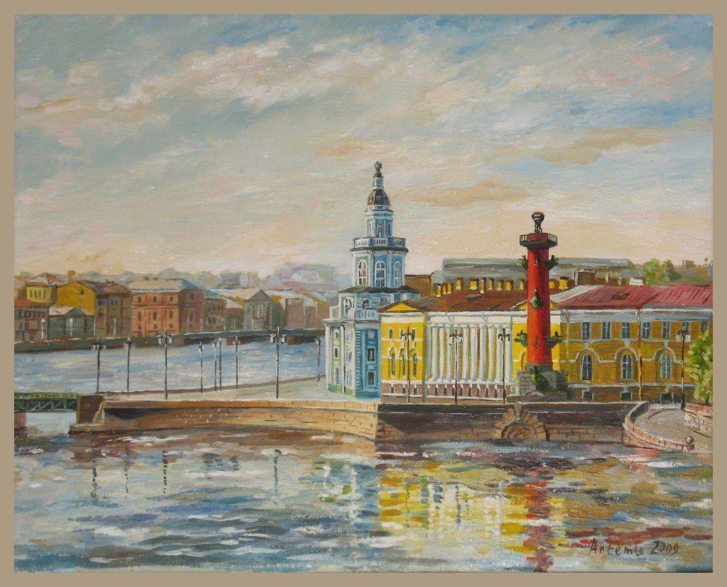 Санкт-петербург в картинках для детей