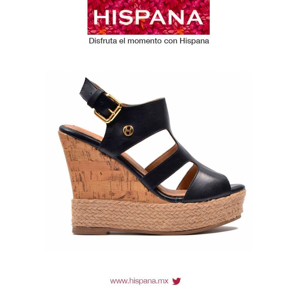 #Calzado Hispana síguenos en Facebook: bit.ly/1q42KNS  #Zapatos #mujer #dama #moda #plataformas #sandalia #style