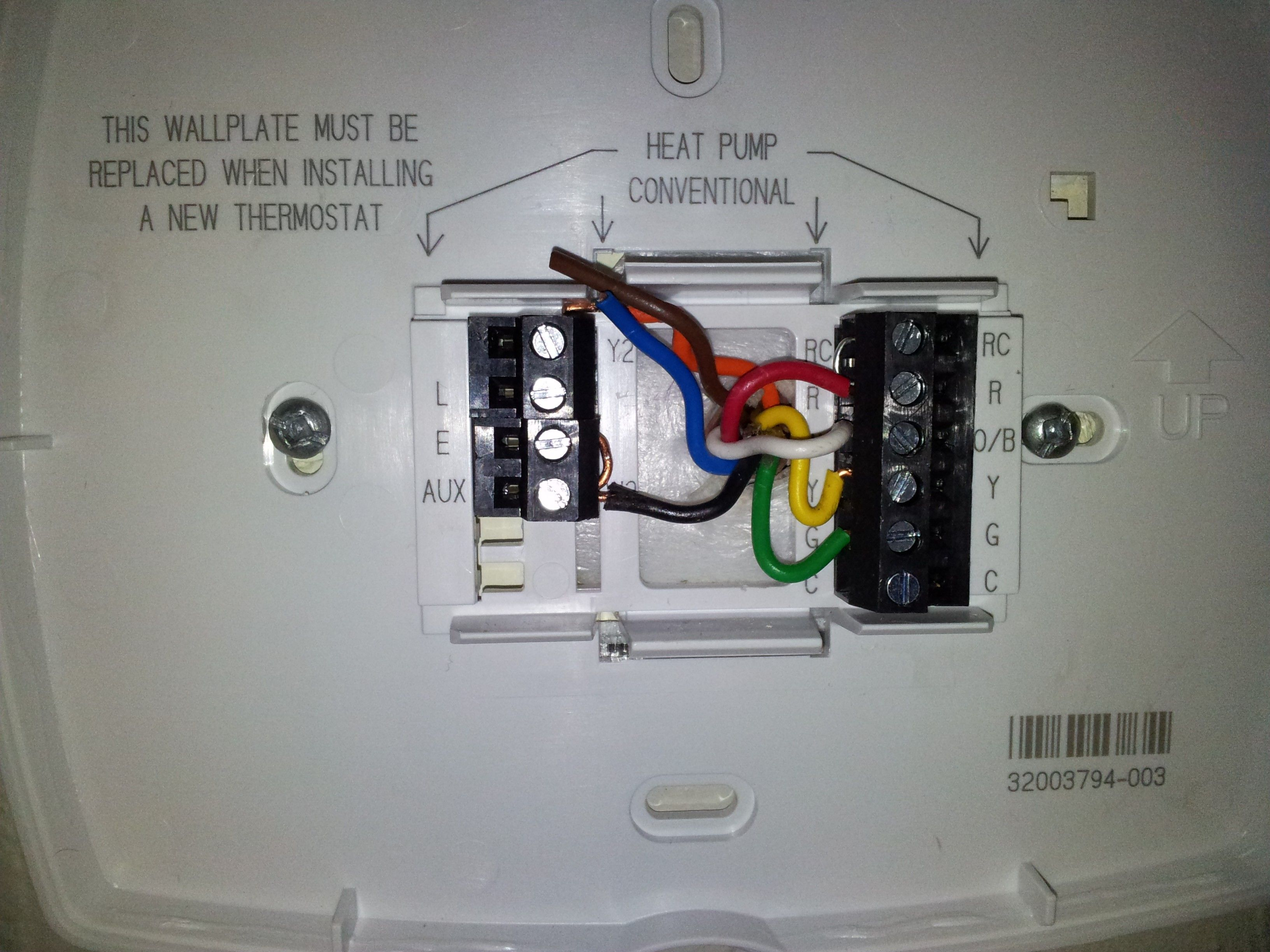 New Honeywell thermostat Rth7600 Wiring Diagram diagram