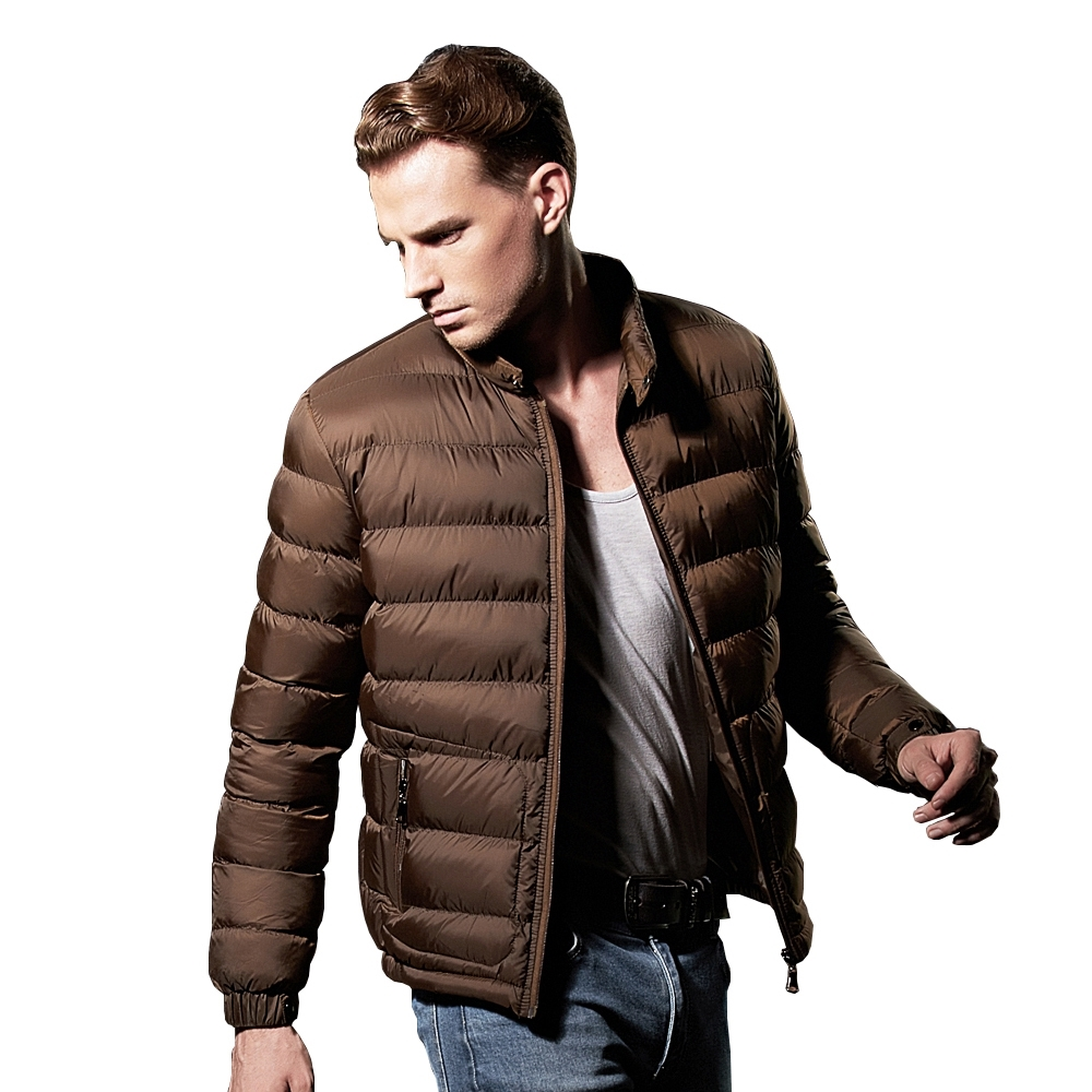 38.06$) Buy here - NXH Winter Jacket Men Fashion Ultralight Mens ...