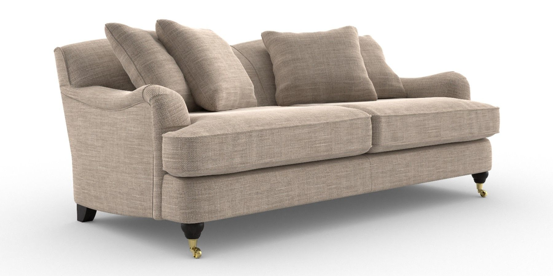 Buy Ophelia Fixed Back Large Sofa (3 Seats