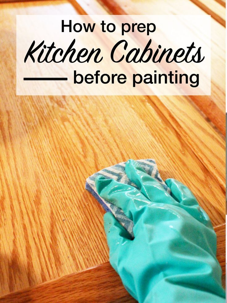 Clean Kitchen Cabinets Prep, Cleaning Kitchen Cabinets With Tsp