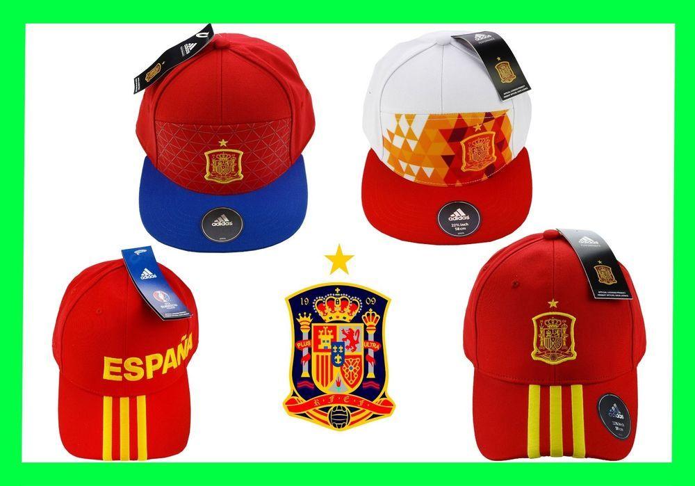 sale retailer f9d5b 731f3 Spain Adidas Original Legacy 3 Stripes Cap Football 2018 FIFA World Cup  fútbol  adidas