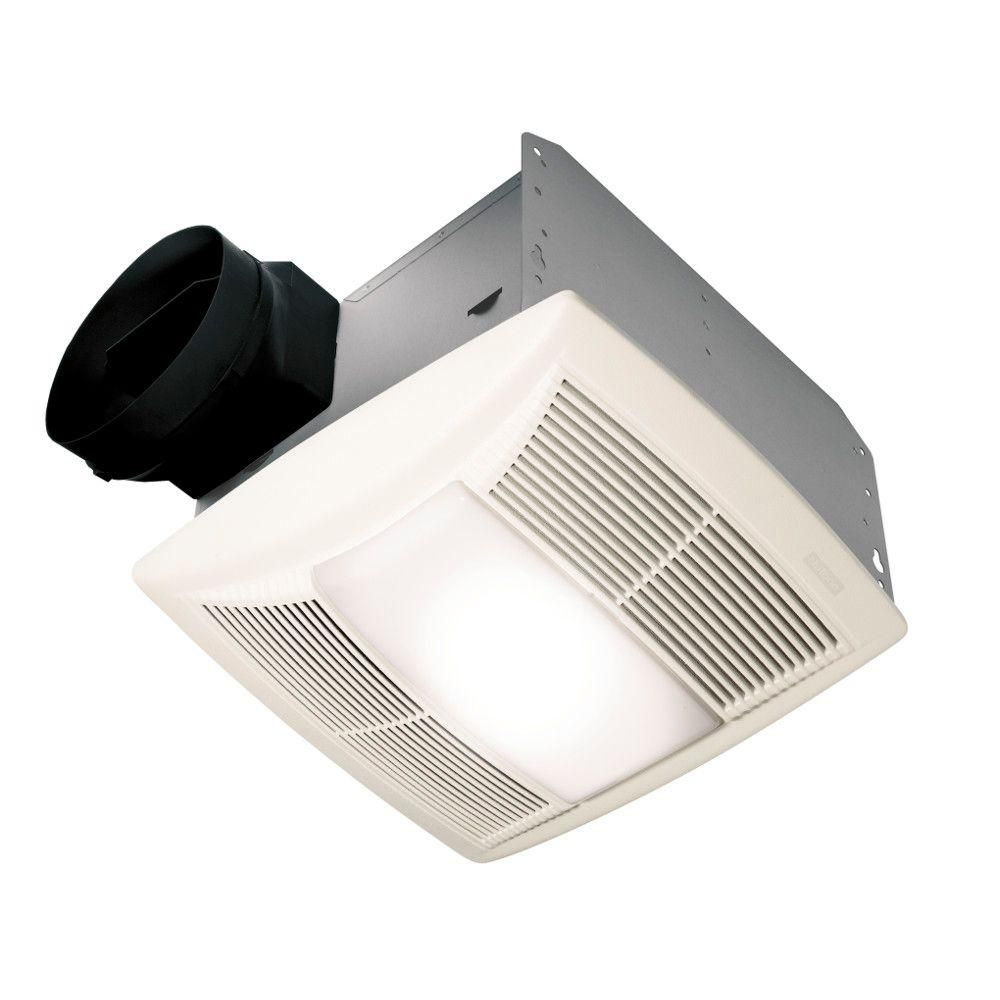 NuTone QT Series Quiet 130 CFM Ceiling Bathroom Exhaust