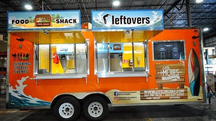 Food trucks food shack leftovers cafe in jupiter hit the