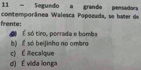"""RN POLITICA EM DIA: VALESCA POPOZUDA: """"GRANDE PENSADORA"""". VEJA A MATÉR..."""