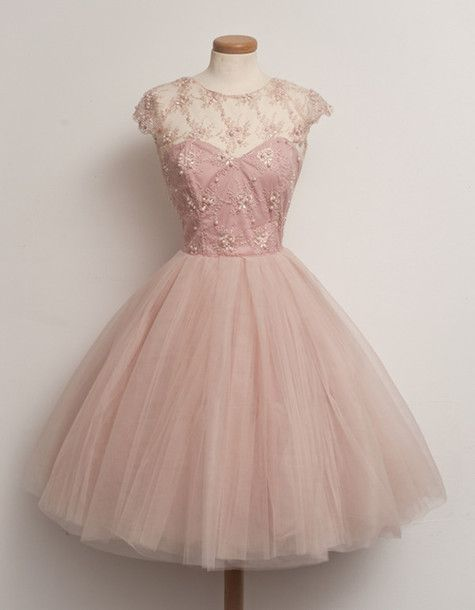 Medium Pink Prom Dress