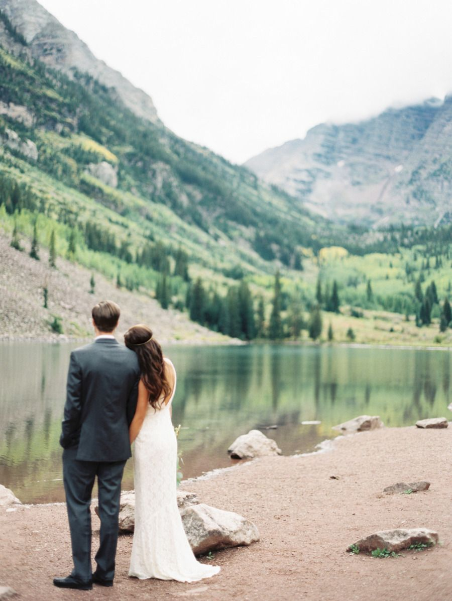 Elegant aspen wedding with boho flair inspiration galleries and