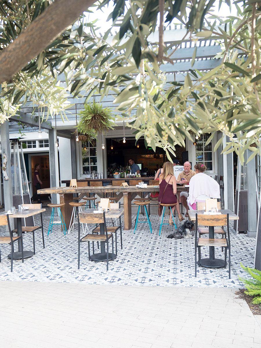 The Outpost Restaurant In Kimpton Goodland Hotel Santa Barbara