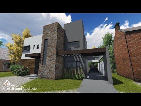 Planos de casas de dos plantas santa catalina for Casa minimalista guayaquil