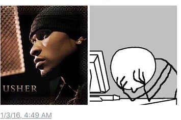 People Are Now Realizing Usher Was In A Confessional On His