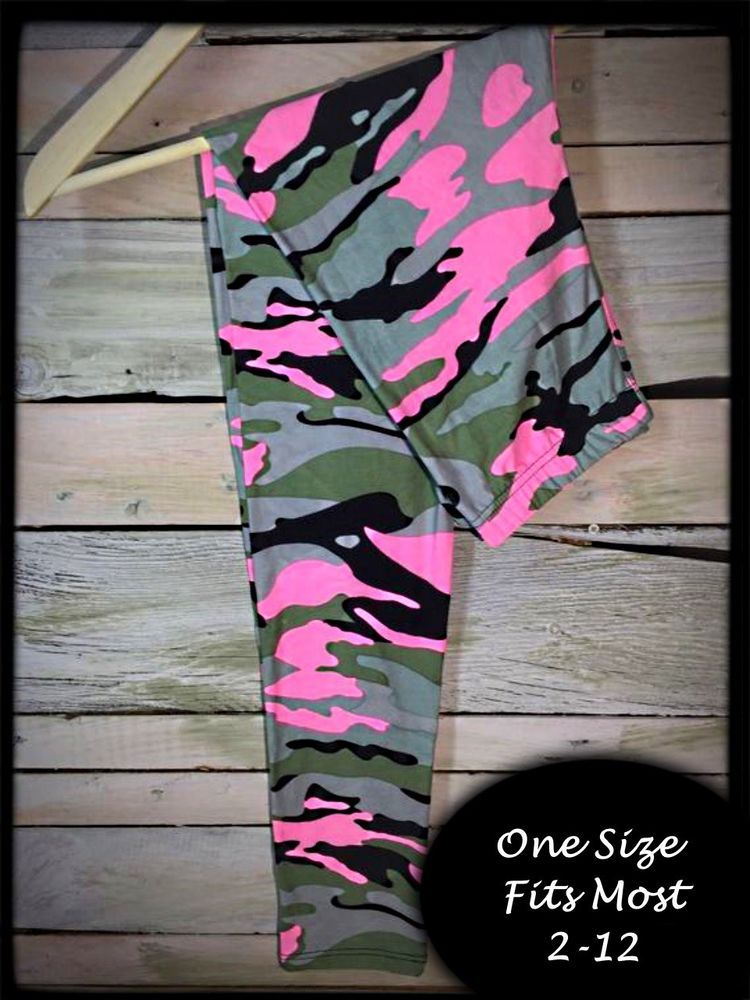 a7d4be5f1c37c Pink Camo One Size Amazing Buttery Soft Leggings | Clothing, Shoes &  Accessories, Women's Clothing, Leggings | eBay!