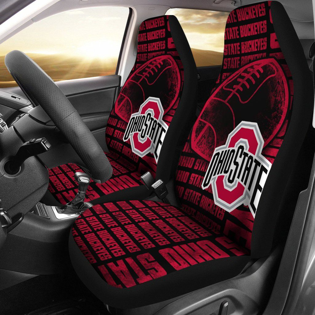 The Victory Ohio State Buckeyes Car Seat Covers Best Funny Store