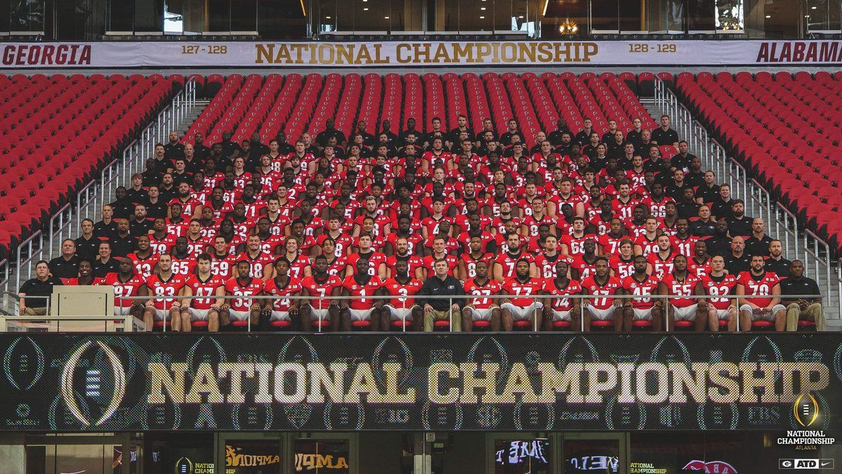 Georgia Football Roster Complete List Of Players For The Uga Bulldogs Football Team That Will Take The Football Roster National Championship Championship Game