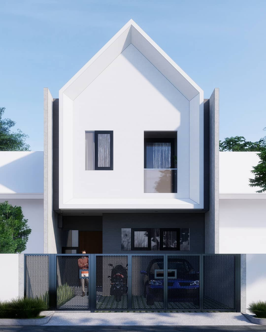 Pin Di Model Rumah Minimalis 2020