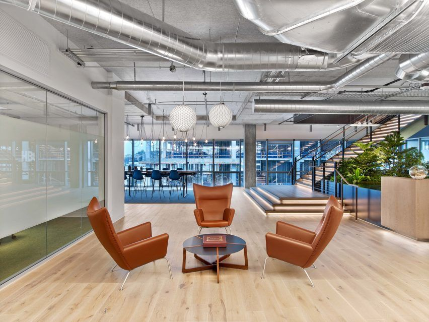 Great Entertainment Powerhouse HBO Uses This Office Space In Seattle, Designed By New  York Firm Rapt