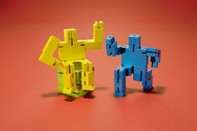 wood robot puzzles gifts holiday gifts fun on wall street journal crossword id=51311